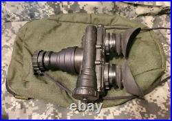 AN/PVS-7B NVG Binocular With Helmet Mount Pouch USGI Mfd. 1992 Gen 3 Used