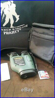Bausch & Lomb Night Ranger Night Vision Goggles Excellent Condition