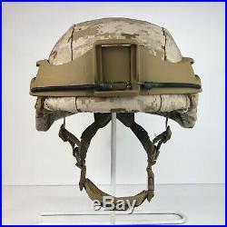 Boltless Helmet Rail NVG Mount System Fits USMC ARMY LWH MICH ACH ECH PASGT Etc