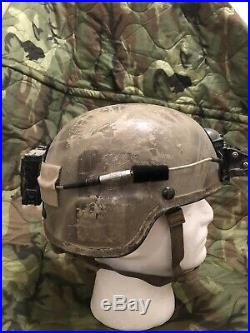 CGF TC 2000 ACH Helmet ANVIS NVG SF Special Forces PJ Camo Painted Ops Core