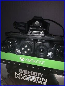 Call Of Duty Modern Warfare Night Vision Goggles/Stand From Dark Edition. New