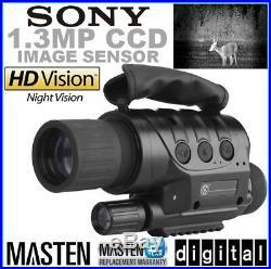 Digital Night Vision Camera Scope Goggles IR Monocular Surveillance Security