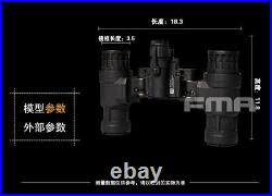 FMA NVG AN-PVS31 Dummy Model Light Function Version & L4G24 Metal Helmet Mount