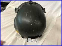 Hgu-56 Gentex Flight Helmet & Anvis Nvg, Mfs Shield Large
