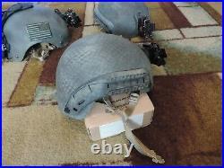 High Cut NIJ IIIA Ballistic SOHAH CVC Like ACH ECH FAST Helmet Wilcox NVG NOD