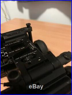 ITL mini NSEAS dual night vision goggles with Wilcox Bridge Mount 15 31