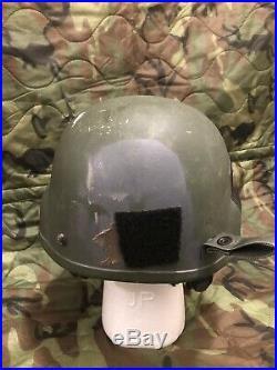MSA MICH TC2000 ACH Ballistic Helmet LARGE SF NSW ACH ODA NVG Norotos OEF OIF US