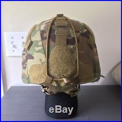 Medium Ceradyne 3M IHPS Improved Combat Helmet NVG Wilcox Ops Core MICH ACH AOR1