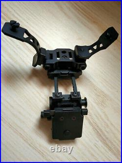 Metal Tactical L4G24 Helmet Mount & PVS28 Dual J arm for AN/PVS 14 Dual NVG