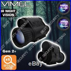Monocular Night Vision Digital Camera Goggles Hunting Binocular Security Recorde