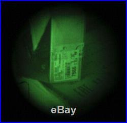 NIGHT VISION Goggles Gen 2+ NPZ PN14K with 1x Lens 2006 + helmet mount