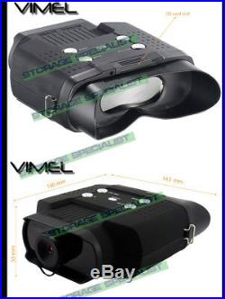 Night Vision Binoculars Monocular Digital Camera Goggles Hunting NV Security 32G