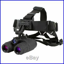 Night Vision Ghost Hunter Binocular Head Mount X Binoculars 24 Goggle Kit 1x24