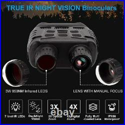 Night Vision Goggles Goggle Infrared Binoculars LCD Image Video Memory Card New