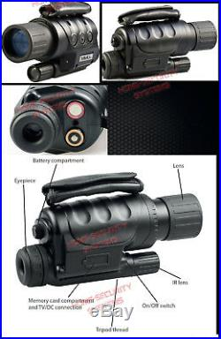 Night Vision Hunting Camera Goggles Binocular Monocular Digital NV Security DVR