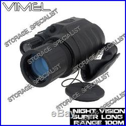 Night Vision Monocular Digital NV Camera Goggles Binoculars Hunting Security DVR