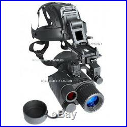 Night Vision Monocular Head Mounted Kit IR Tracker Goggle Security Trail Gen