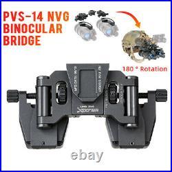 Night-vision Goggle Stent Skip Rhino NVG Mount Arms Bridge for L4G24 FAST Helmet