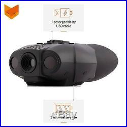 Nightfox 119V Night Vision Goggles Digital Infrared 75yd Range Rech. New