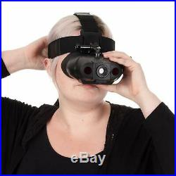 Nightfox 119V Night Vision Goggles Digital Infrared 75yd Range Recharge