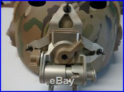 Ops Core FAST Carbon Bump Helmet Multicam MED / LG with Wilcox L4 G65 NVG Mount