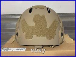 Ops Core FTHS Carbon Super High Cut Helmet XXL Tactical NVG FAST