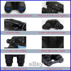 Pulsar Edge GS 1x20 NV Goggles Infrared Hunting Night Vision Binocular fr Helmet