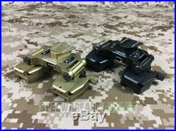 SOTAC Wilcox Type Bino-Bridge SM-2 Mount CNC (Black) NVG Fast Mich SD-SM2-BK