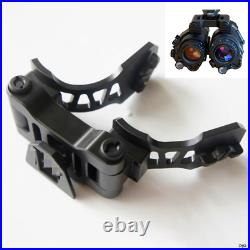 Tactical Metal PVS28 NVG Mount Bracket Double Arm For AN/PVS Dual Night Vision