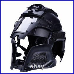 Tactical Military Ballistic Helmet Side Rail NVG Shroud Transfer Base Paintball