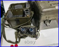 U. S. Military NIGHT VISION GOGGLES Mod. # AN/PVS-5A (1980) Near Mint Both Cases