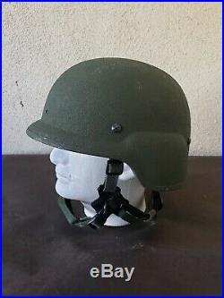 USMC Marine Corps Lightweight Helmet LWH XL MARPAT Combat Ballistic USGI NVG