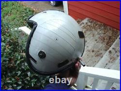 USN USMC Marine Corps HGU 84 84/p Flight helmet USED rebuild parts NVG Sharp