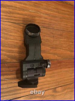 Wilcox AN/PVS-14 J Arm Dovetail Mount Black SOCOM NVG Night Vision Mount