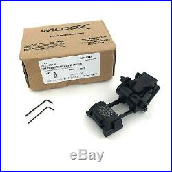 Wilcox G24 Rhino Mount, L4 Breakaway Lever, Black, Dovetail NVG 28300G24-B