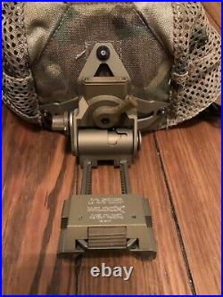 Wilcox L4 28300G66 NVG Mount Crye Night Cap Multicam